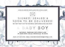 Signed, Sealed Baby Boy by Simeone and Shierhorn