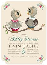 Baby Owl - Twins by Tresa Meyer-Clark