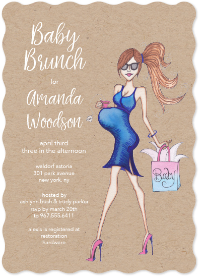 baby shower invitations - Sassy Baby! Shower Invitation by Amy Lee Creel