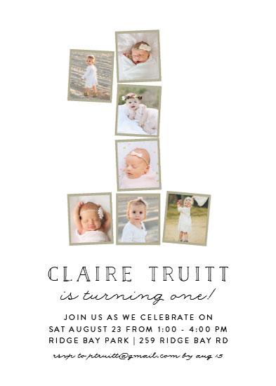 birthday party invitations - Photo One by Amy Payne