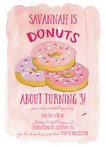 Donuts about Partying! by Novel Paper