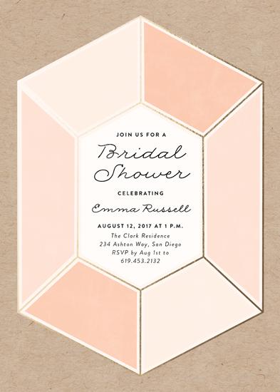 party invitations - Gemstone by Erica Krystek