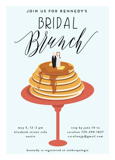 party invitations - Bridal Brunch by Haley Warner