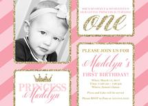 Princess First Birthday... by Willow Lane Paper