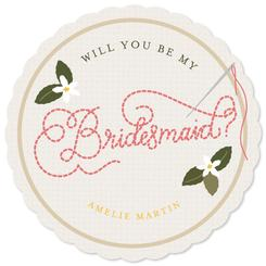Embroidered Bridesmaid