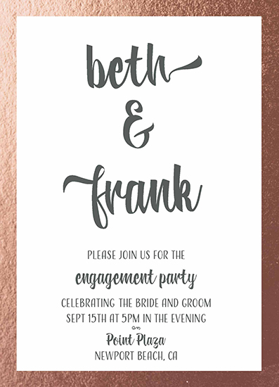 party invitations - Glammed &Engaged by Lauren Rondou