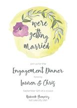 We're Getting Married by Lauren Rondou
