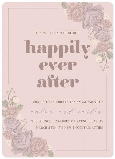 party invitations - romance novel by Natalia