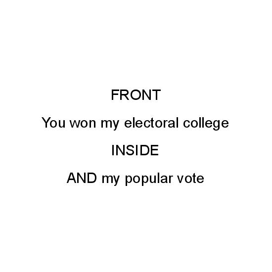 greeting card - Election by Katie Zimpel