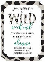 Wild Weekend by Natalia