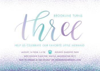 Mermaid Turns Three