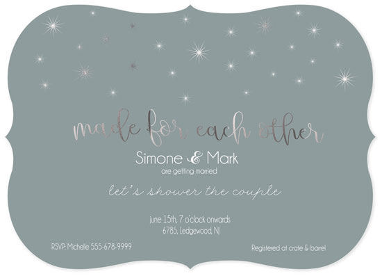 party invitations - Made For Each Other by Roshni Anand