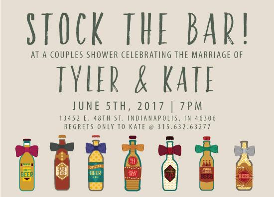 party invitations preppy stock the bar invitation at minted com