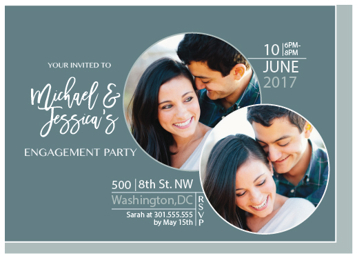 party invitations - Happily Engaged by Alicia Tosky
