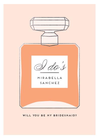 party invitations - eau de parfum by Jennifer Lew