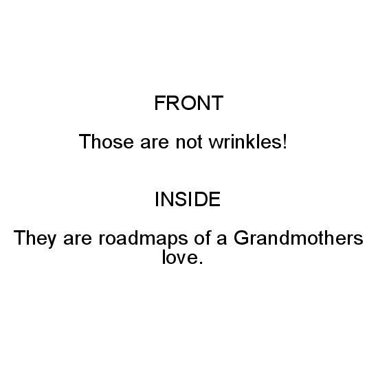 greeting card - Grandmas Roadmaps by Lee Martin