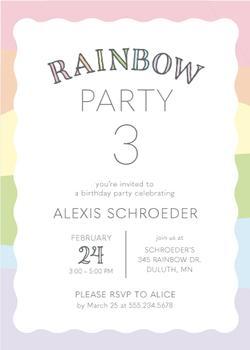 Rainbow Wave Birthday