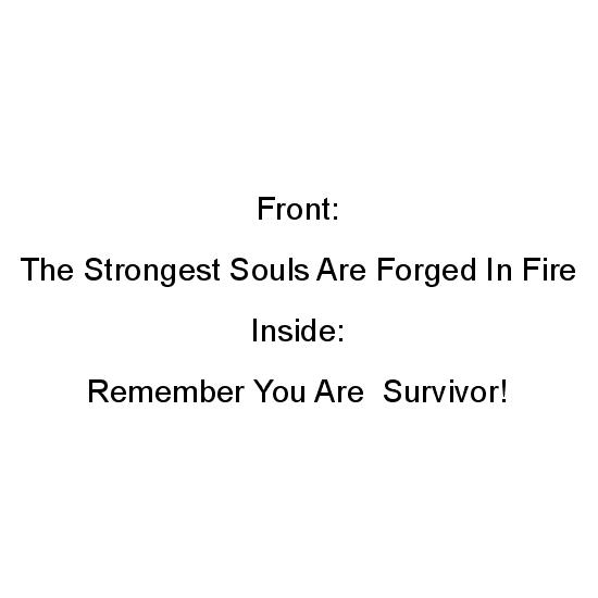 greeting card - Strongest Souls by Roshni Anand