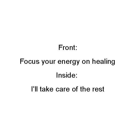 greeting card - Healing Energy by Jo Wiggins