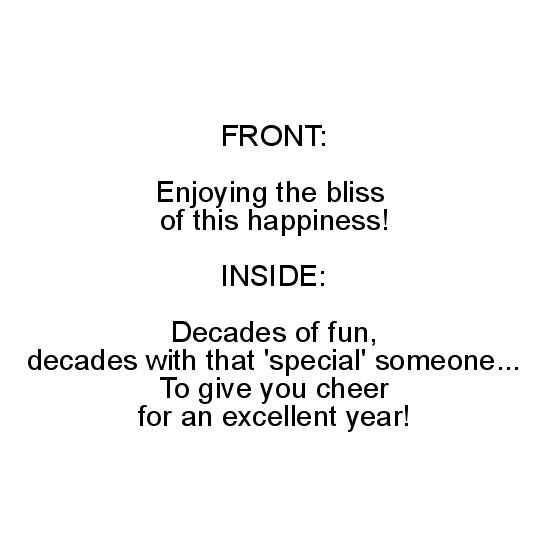 greeting card - Enjoying the Bliss by Lisa Muhs