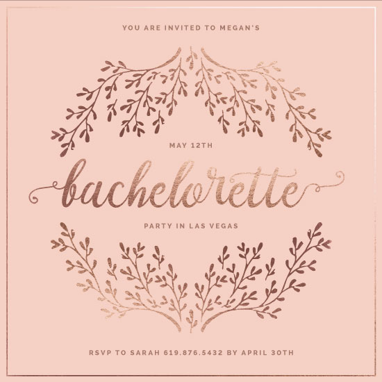 party invitations - Sexy in Pink by Toodles McChang Studios