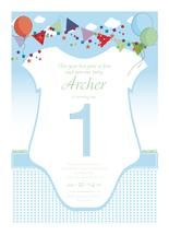 Onesie First Birthday C... by victory consistently