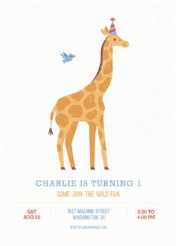 Giraffe's Party