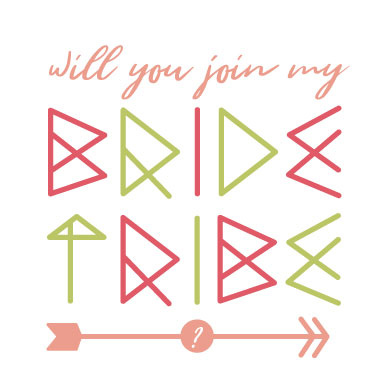 party invitations - Bride Tibe by Ashley Konzen