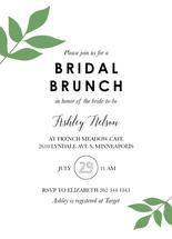 Bridal Brunch Greenery by Chrissie Parker