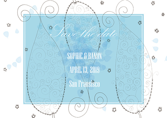 party invitations - Save date by ArtLab700