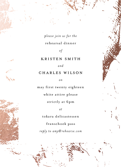 party invitations - simple marble by Phrosne Ras