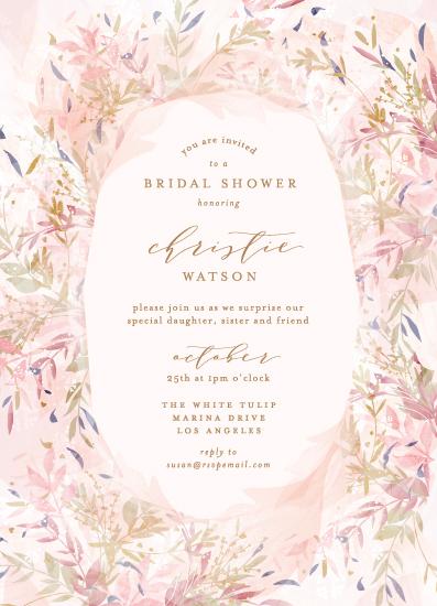 party invitations - Fantasy Floral Bride by Phrosne Ras