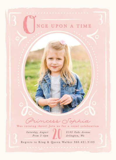 birthday party invitations - Fairytale Princess by Karidy Walker