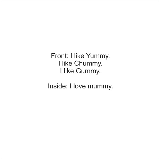 greeting card - Yummy Mummy by LARA NASCIMENTO