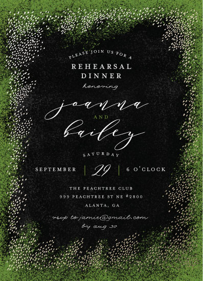 party invitations - Elegant forest by iamtanya