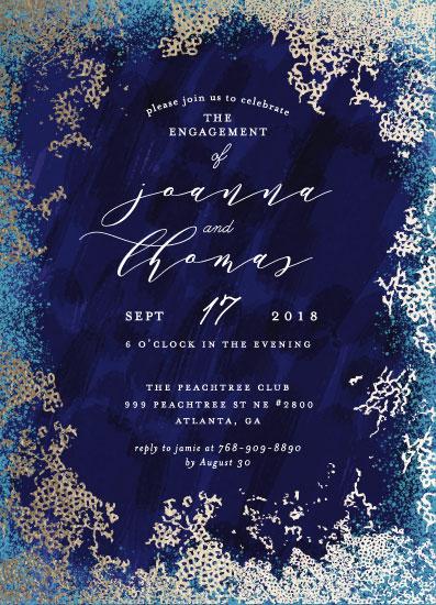 party invitations - Elegant sea by iamtanya