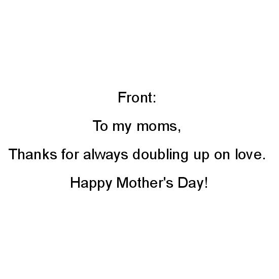greeting card - for your moms by Danny Morales