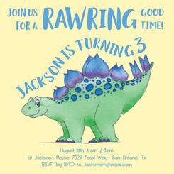 Rawring Dino Birthday