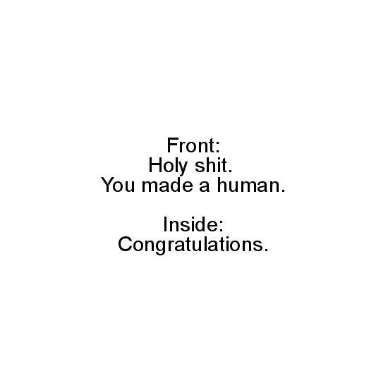 greeting card - Human by Hannah Wilson