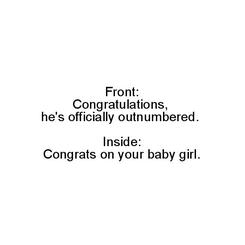 Outnumbered Baby Girl