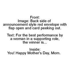 Award Mom