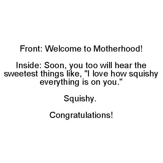 greeting card - Squishy Mom by Heather LeRoss