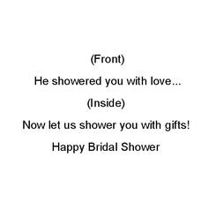 A Happy Shower