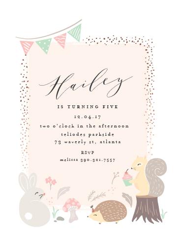 birthday party invitations - rinaldini by chocomocacino
