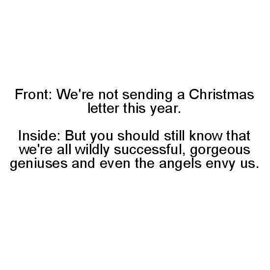 greeting card - Gorgeous Genius Christmas by Riane Konc