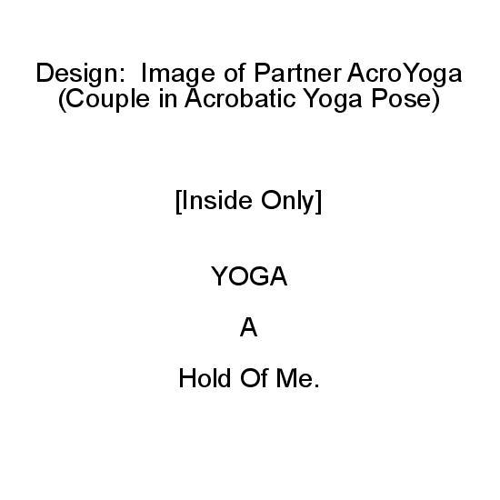 greeting card - Partner Yoga by Mariecor Agravante