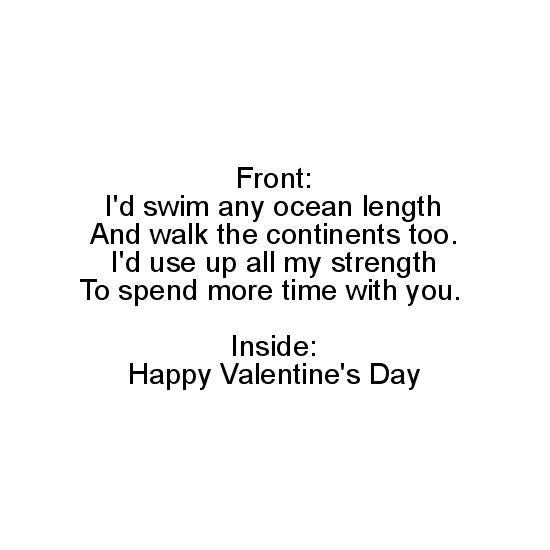 greeting card - Valentine Poem by Janice Blakeley