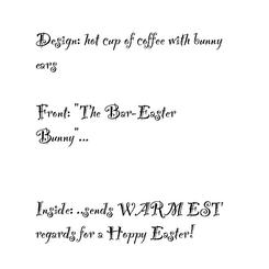 The Bar-Easter Bunny