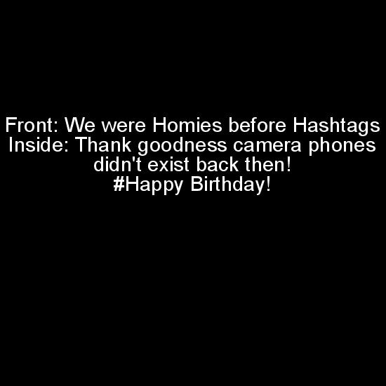 greeting card - Homies Before Hashtags by Fiera Smith