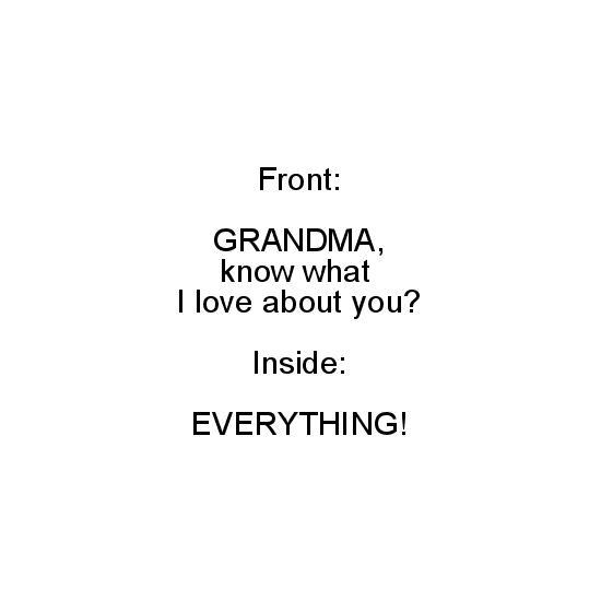 greeting card - love you, Grandma by Noelle Sanderson